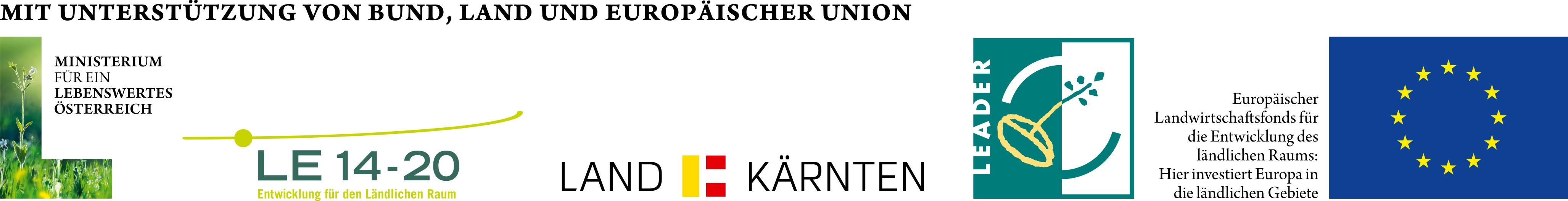 EU-LEADER Logoleiste