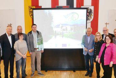 Radtourismusprojekt wurde präsentiert
