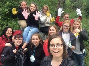 Flurreinigungsaktion 2016 - ASC St. Paul Frauen